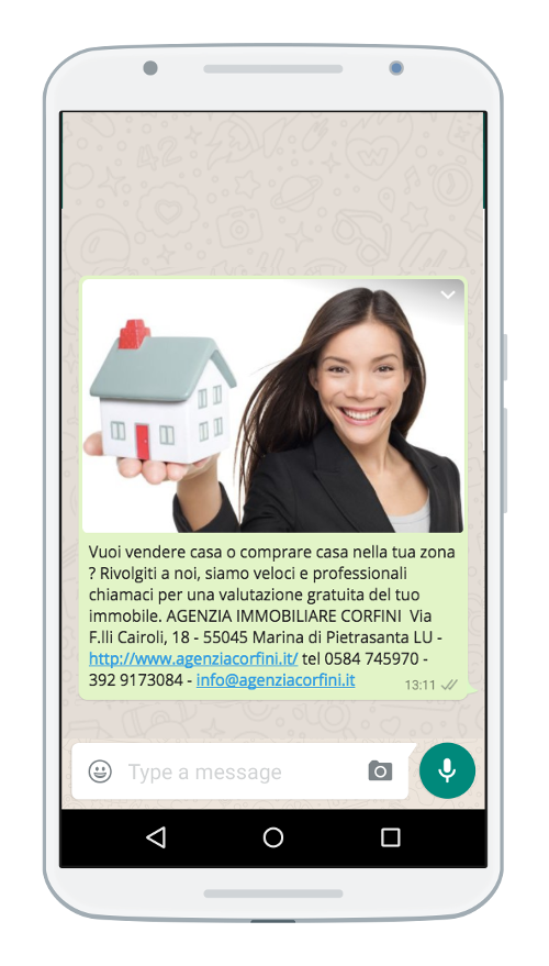 WhatsApp immobiliare